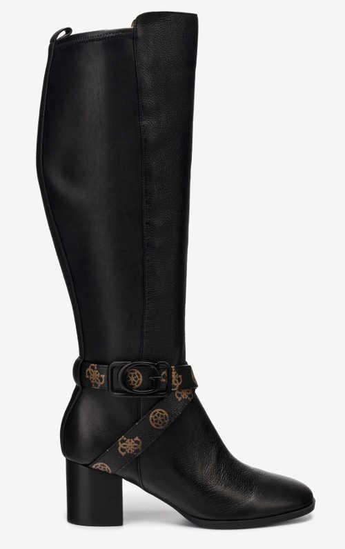 Fekete női luxus csizma Guess