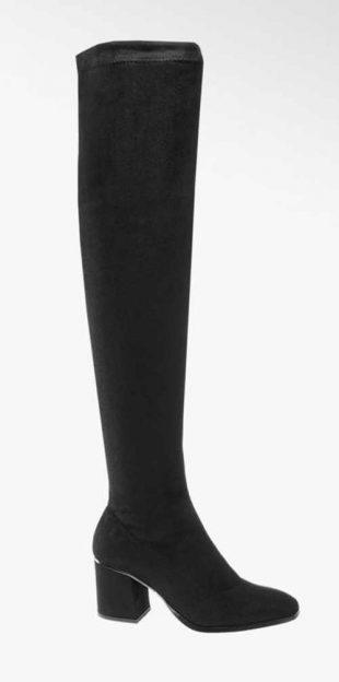 Fekete magas csizma térd fölött Vero Moda