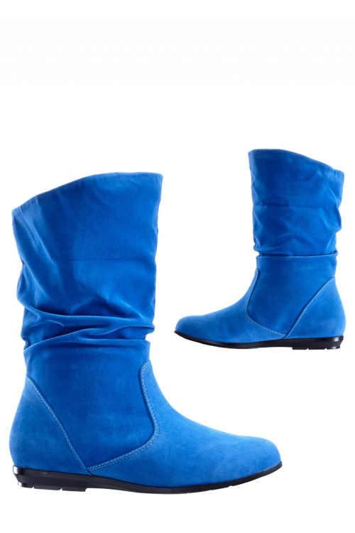 Kék slip-on csizma